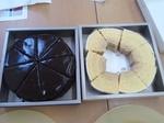 チョコレートケーキ&バームクーヘン.JPG